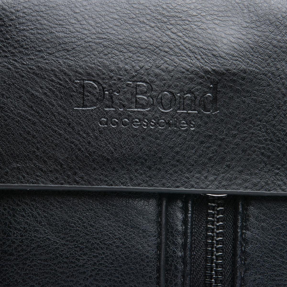 Сумка Мужская Планшет иск-кожа DR. BOND GL 318-0 black - фото 5