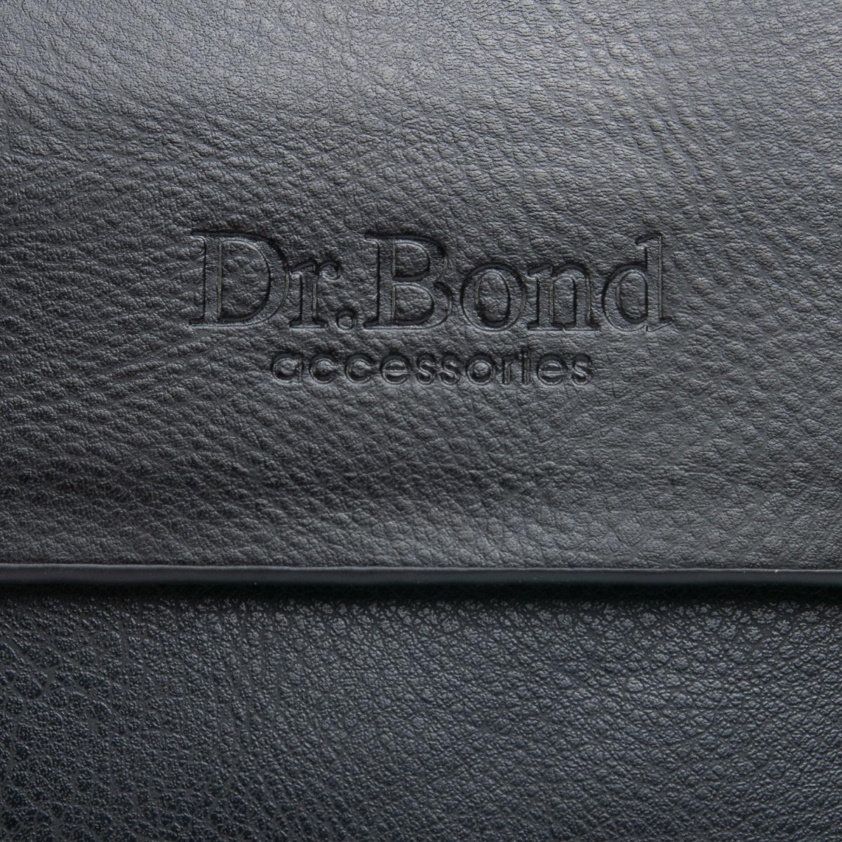 Сумка Мужская Планшет иск-кожа DR. BOND GL 318-0 black - фото 3