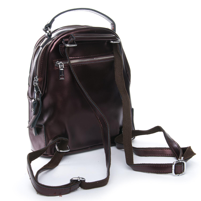 Сумка Женская Рюкзак кожа ALEX RAI 08-2 8695-2 brown - фото 3