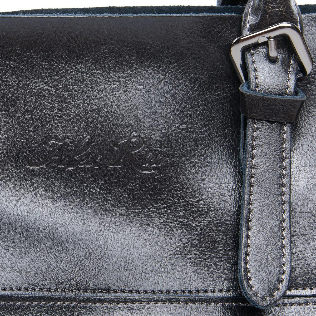 Сумка Женская Классическая кожа ALEX RAI 08-1 8223-64 grey