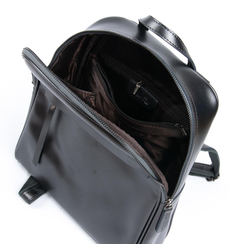 Сумка Женская Рюкзак кожа ALEX RAI 08-2 8694-2 grey
