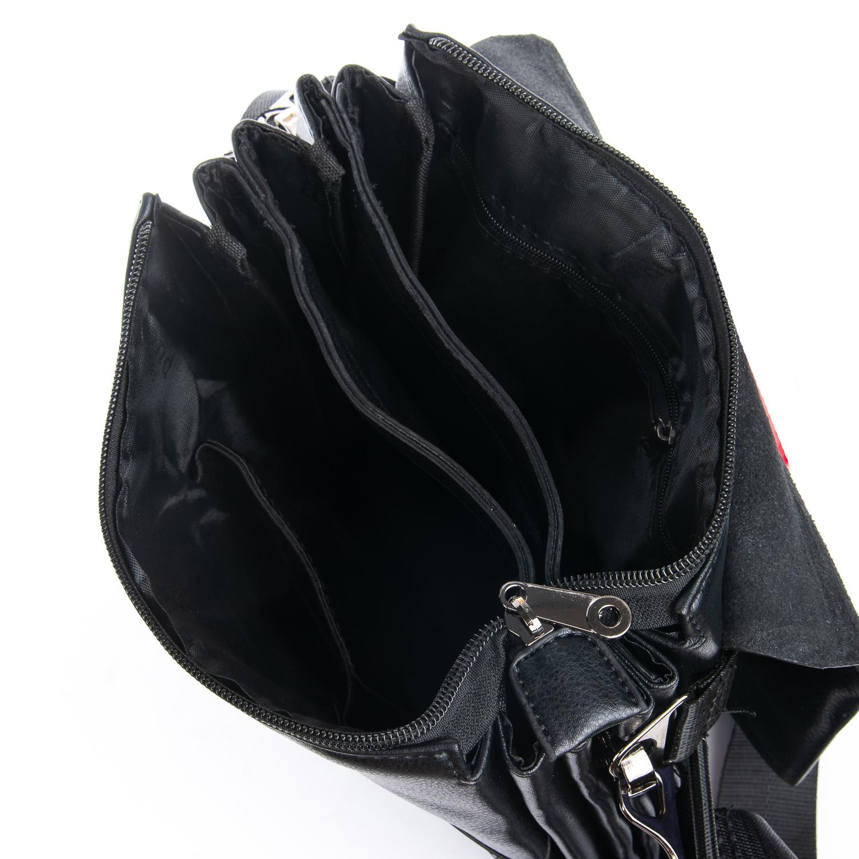 Сумка Мужская Планшет иск-кожа DR. BOND GL 317-3 black - фото 5