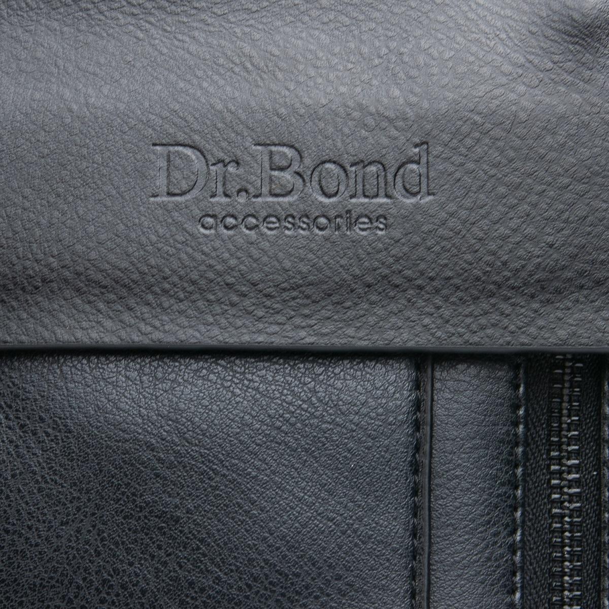 Сумка Мужская Планшет иск-кожа DR. BOND GL 318-3 black - фото 3