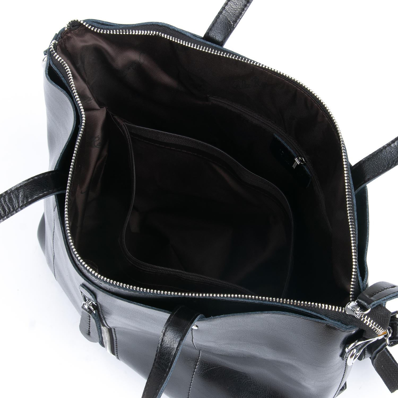 Сумка Женская Классическая кожа ALEX RAI 08-1 1542-64 black