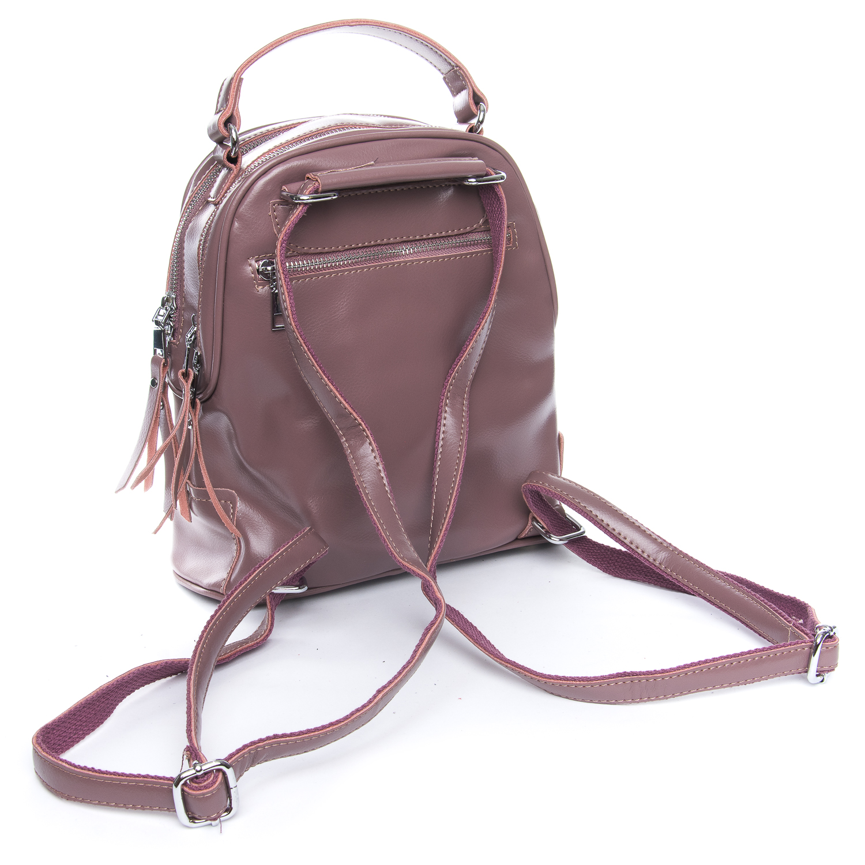 Сумка Женская Рюкзак кожа ALEX RAI 08-2 8695-2 purple - фото 3