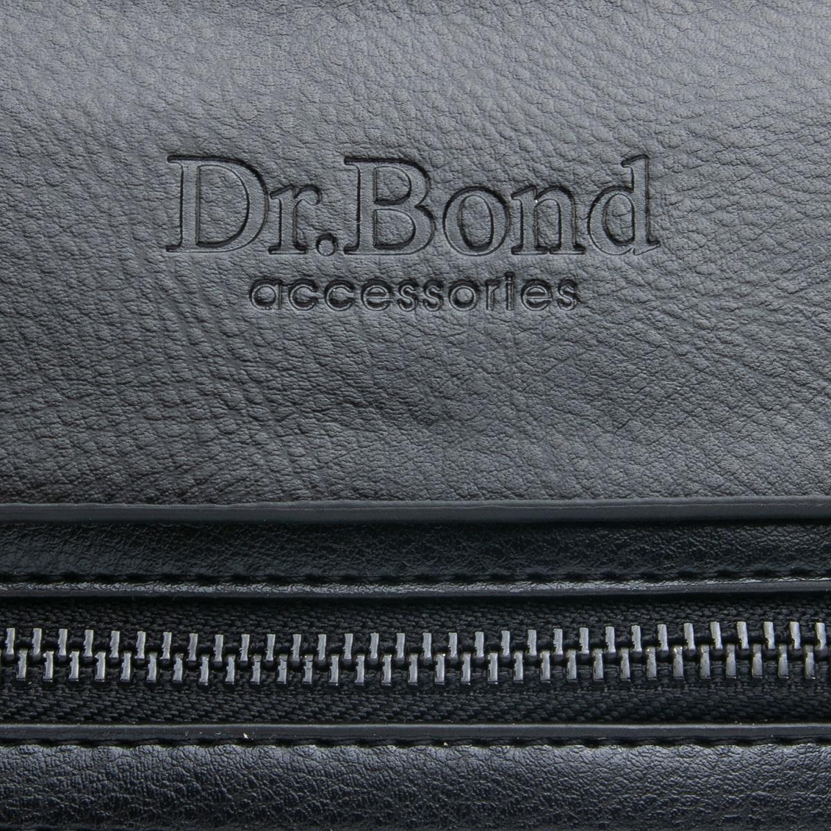 Сумка Мужская Планшет иск-кожа DR. BOND GL 317-2 black - фото 3
