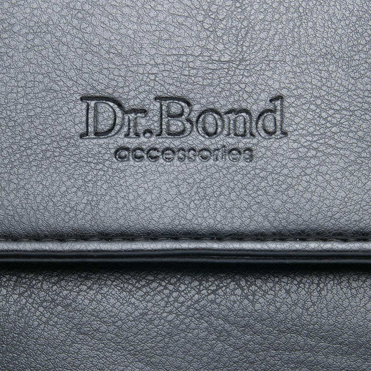 Сумка Мужская Планшет иск-кожа DR. BOND GL 319-3 black - фото 3