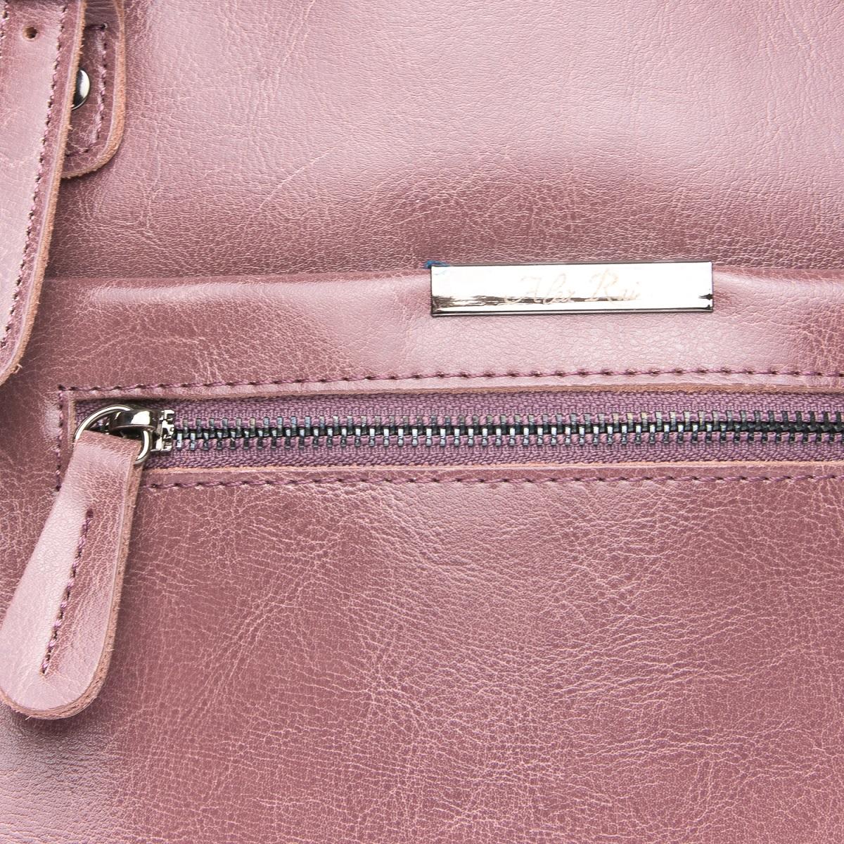 Сумка Женская Классическая кожа ALEX RAI 08-1 8222-64 purple - фото 5