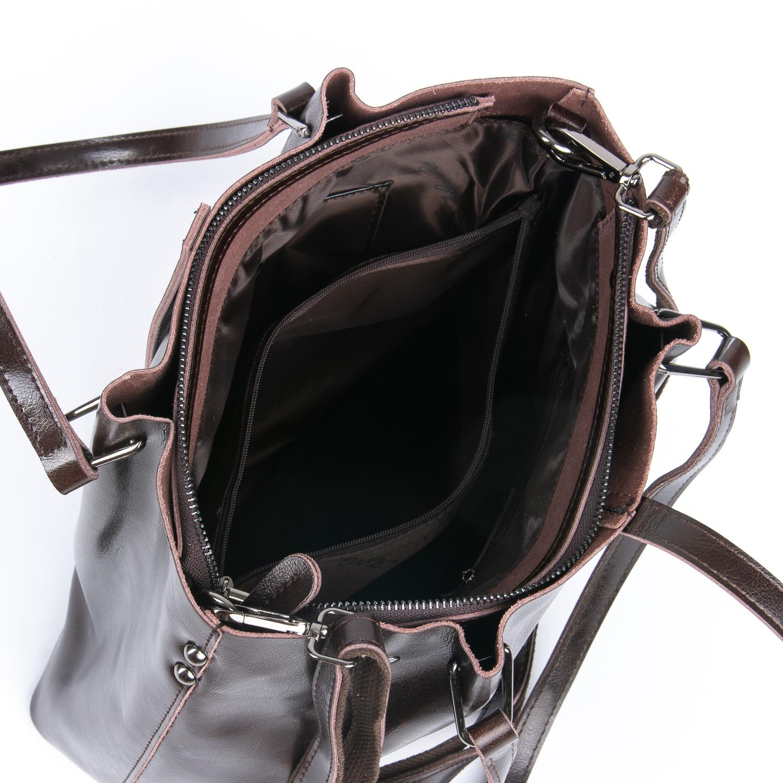 Сумка Женская Классическая кожа ALEX RAI 08-1 317-64 brown
