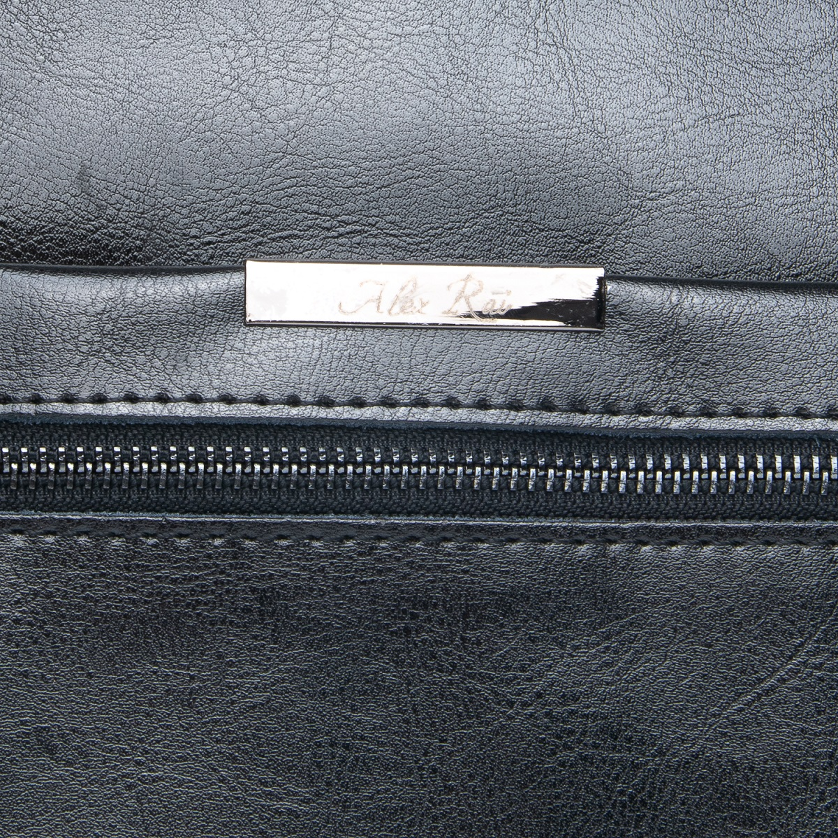 Сумка Женская Классическая кожа ALEX RAI 08-1 8222-64 black - фото 5