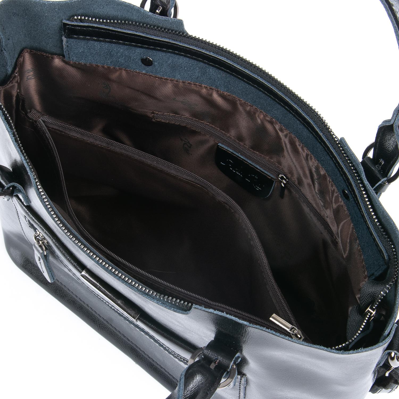Сумка Женская Классическая кожа ALEX RAI 08-1 8222-64 black - фото 4