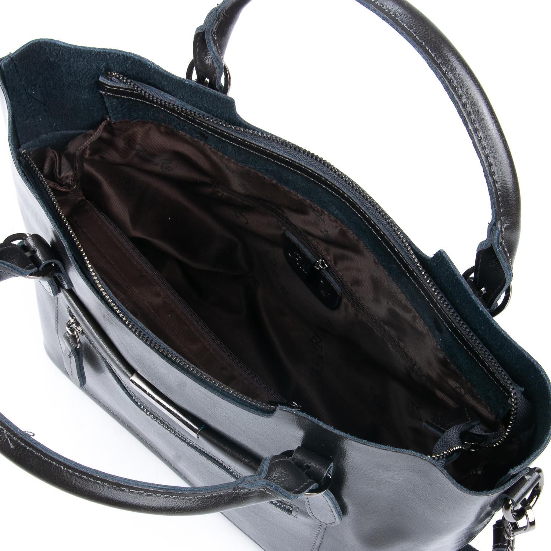Сумка Женская Классическая кожа ALEX RAI 08-1 8222-64 grey - фото 4
