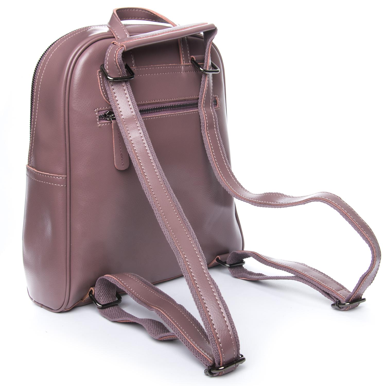 Сумка Женская Рюкзак кожа ALEX RAI 08-2 8694-2 purple