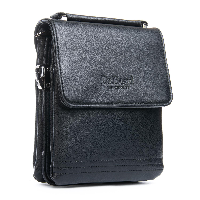 Сумка Мужская Планшет иск-кожа DR. BOND GL 319-1 black
