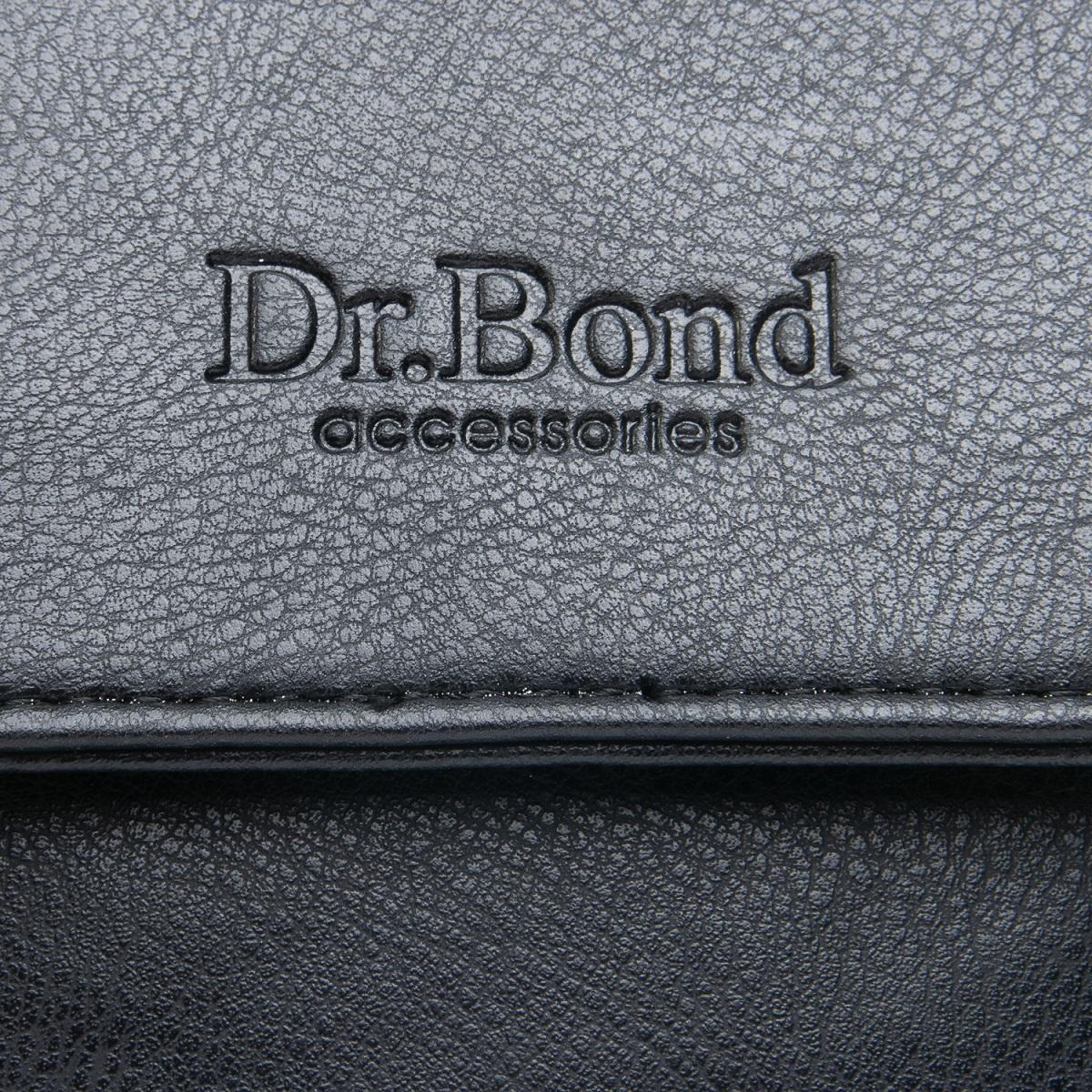 Сумка Мужская Планшет иск-кожа DR. BOND GL 319-1 black - фото 3