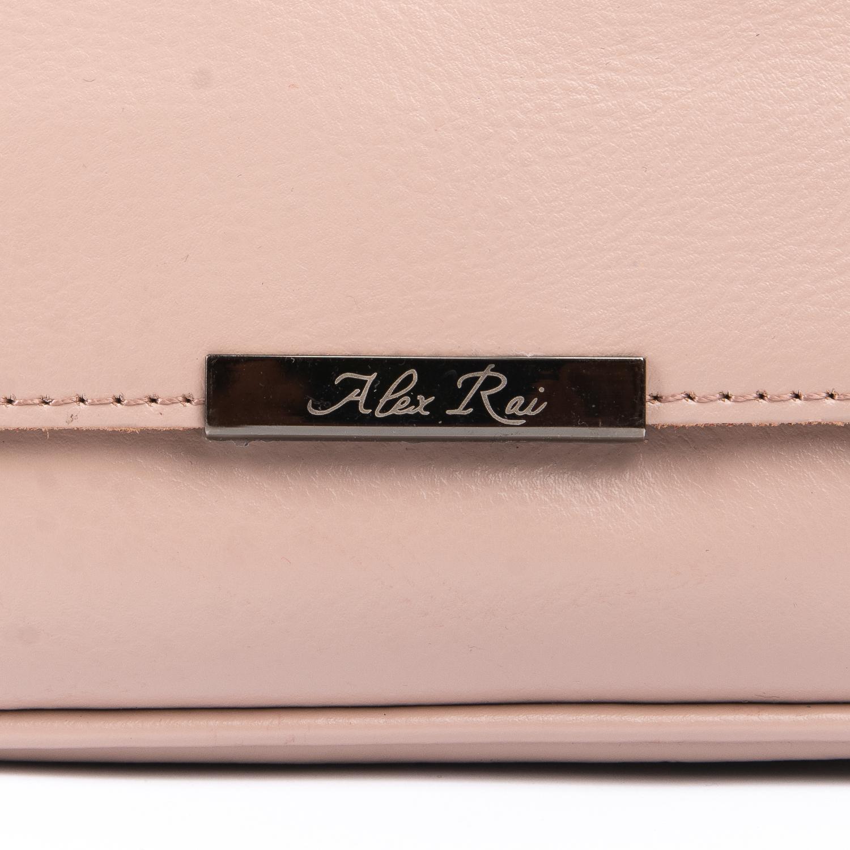 Сумка Женская Клатч кожа ALEX RAI 08-3 2227-220 pink - фото 4