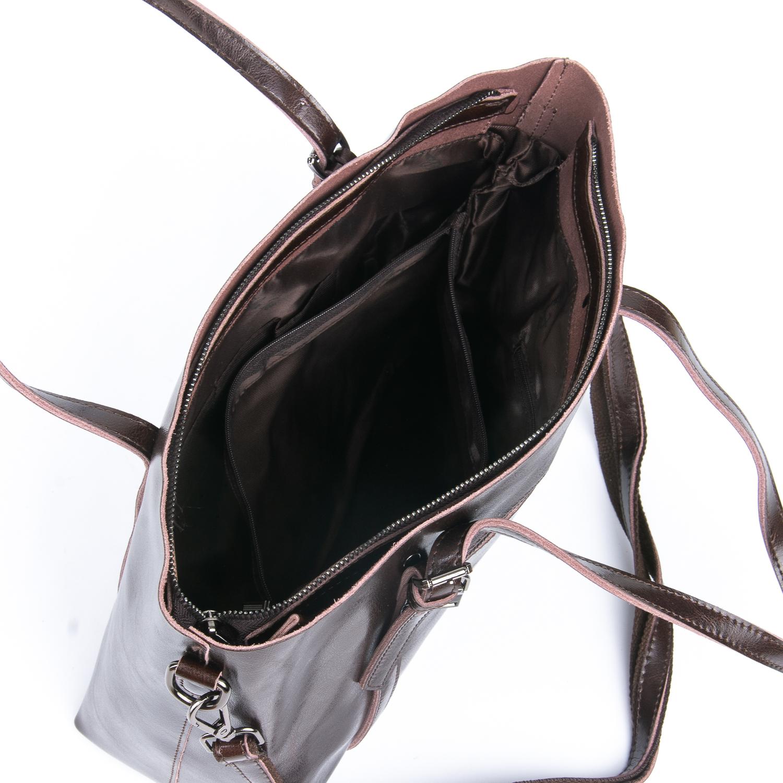 Сумка Женская Классическая кожа ALEX RAI 08-1 1535 brown - фото 5
