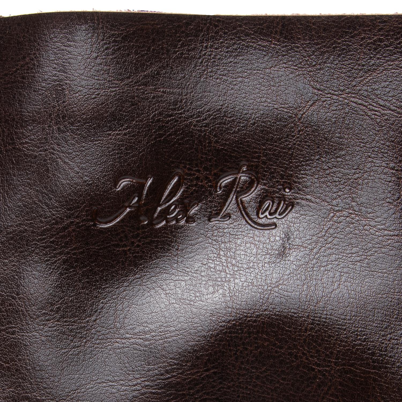 Сумка Женская Классическая кожа ALEX RAI 08-1 8603 brown - фото 4