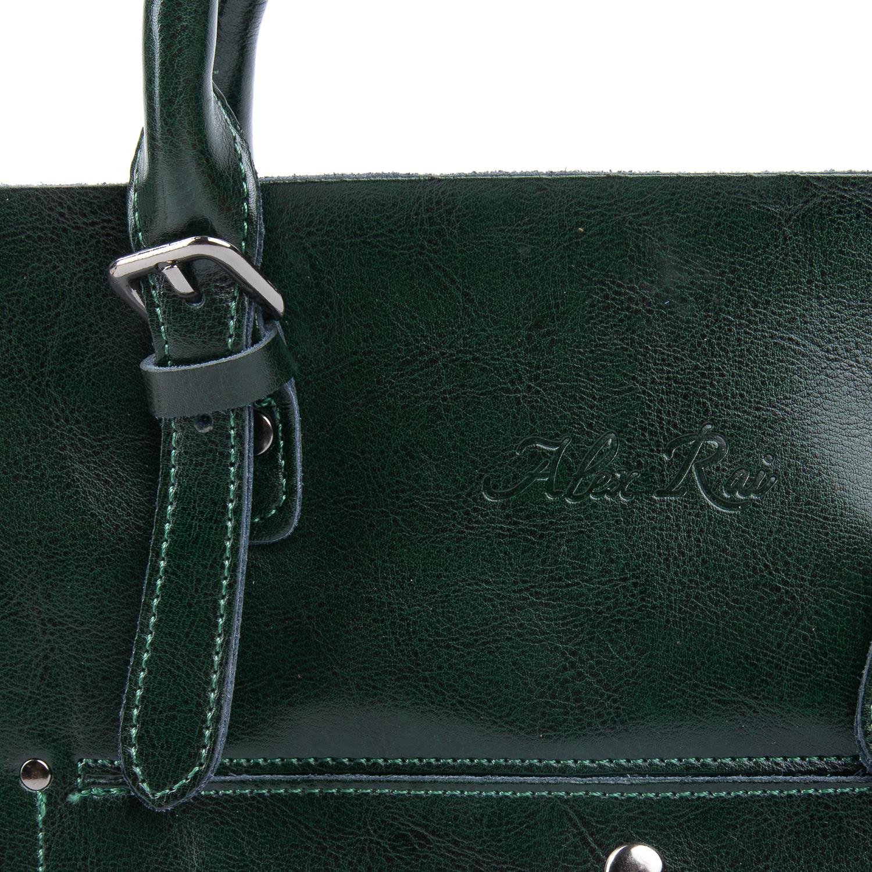 Сумка Женская Классическая кожа ALEX RAI 08-1 8223-64 green - фото 4
