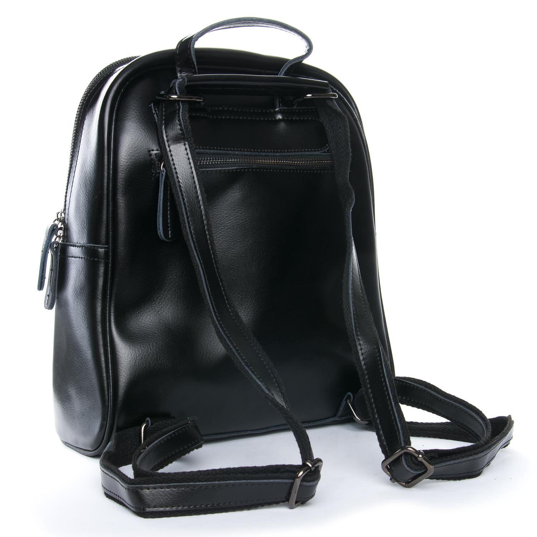 Сумка Женская Рюкзак кожа ALEX RAI 08-2 8694-2 black