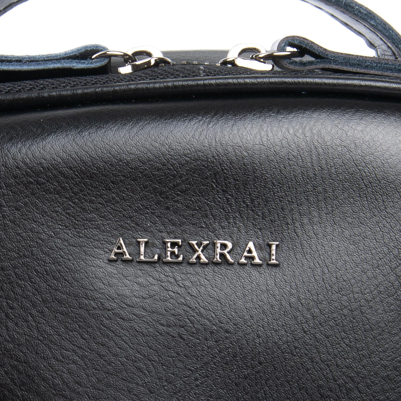Сумка Женская Рюкзак кожа ALEX RAI 08-2 8694-2 black - фото 4