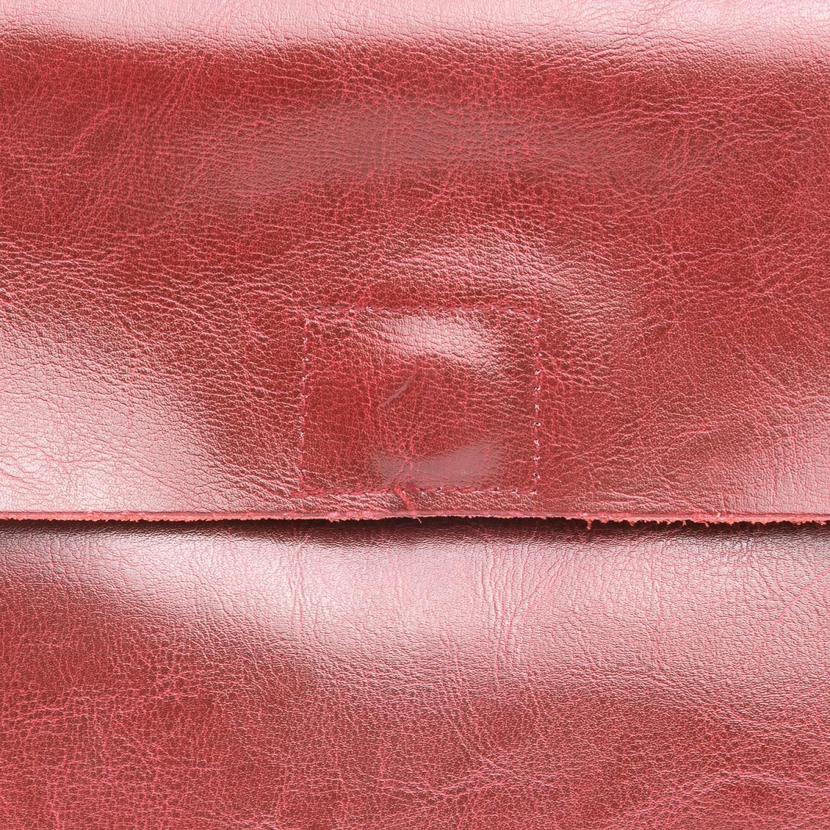 Сумка Женская Классическая кожа ALEX RAI 08-1 8605 wine-red - фото 4