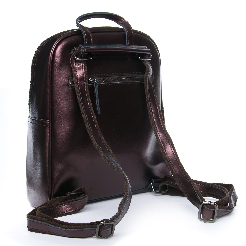 Сумка Женская Рюкзак кожа ALEX RAI 08-2 8694-2 brown - фото 3