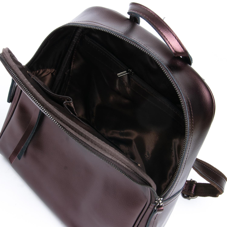 Сумка Женская Рюкзак кожа ALEX RAI 08-2 8694-2 brown - фото 4