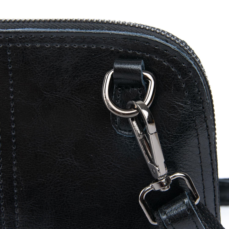 Сумка Женская Клатч кожа ALEX RAI 08-3 8803-220 black - фото 4
