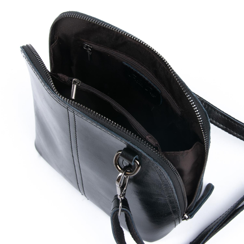 Сумка Женская Клатч кожа ALEX RAI 08-3 8803-220 black - фото 5