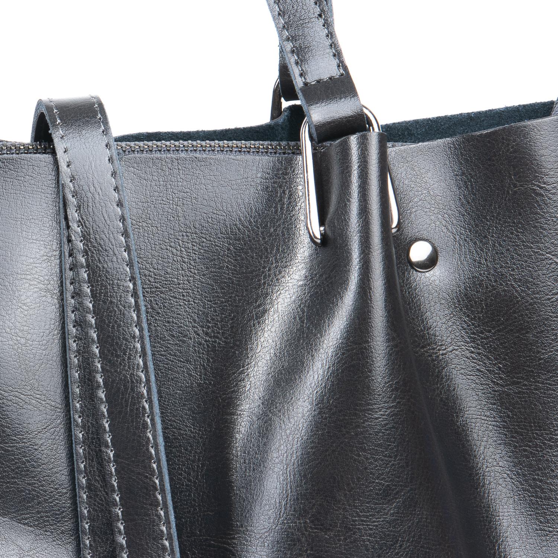 Сумка Женская Классическая кожа ALEX RAI 08-1 317-64 grey - фото 4