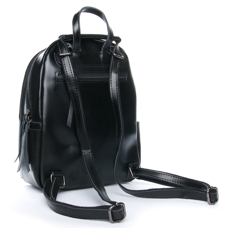 Сумка Женская Рюкзак кожа ALEX RAI 08-2 337 black - фото 3