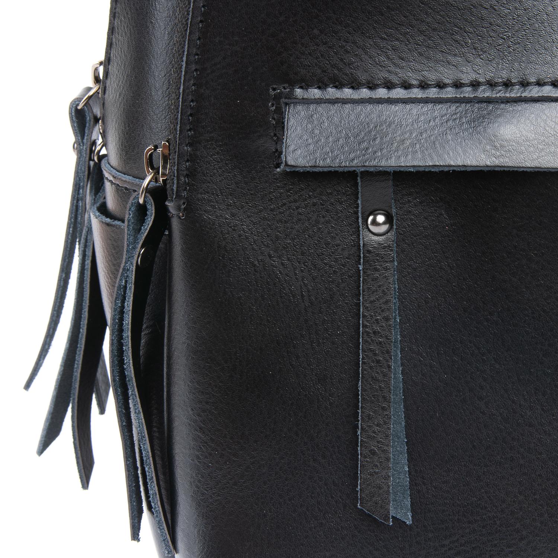 Сумка Женская Рюкзак кожа ALEX RAI 08-2 337 black - фото 4