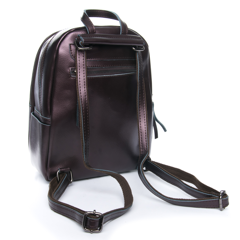 Сумка Женская Рюкзак кожа ALEX RAI 08-2 337 brown - фото 3