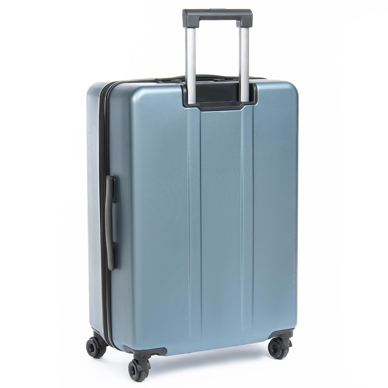 Дорожная Чемодан 2/1 ABS-пластик 105 blue змейка - фото 4