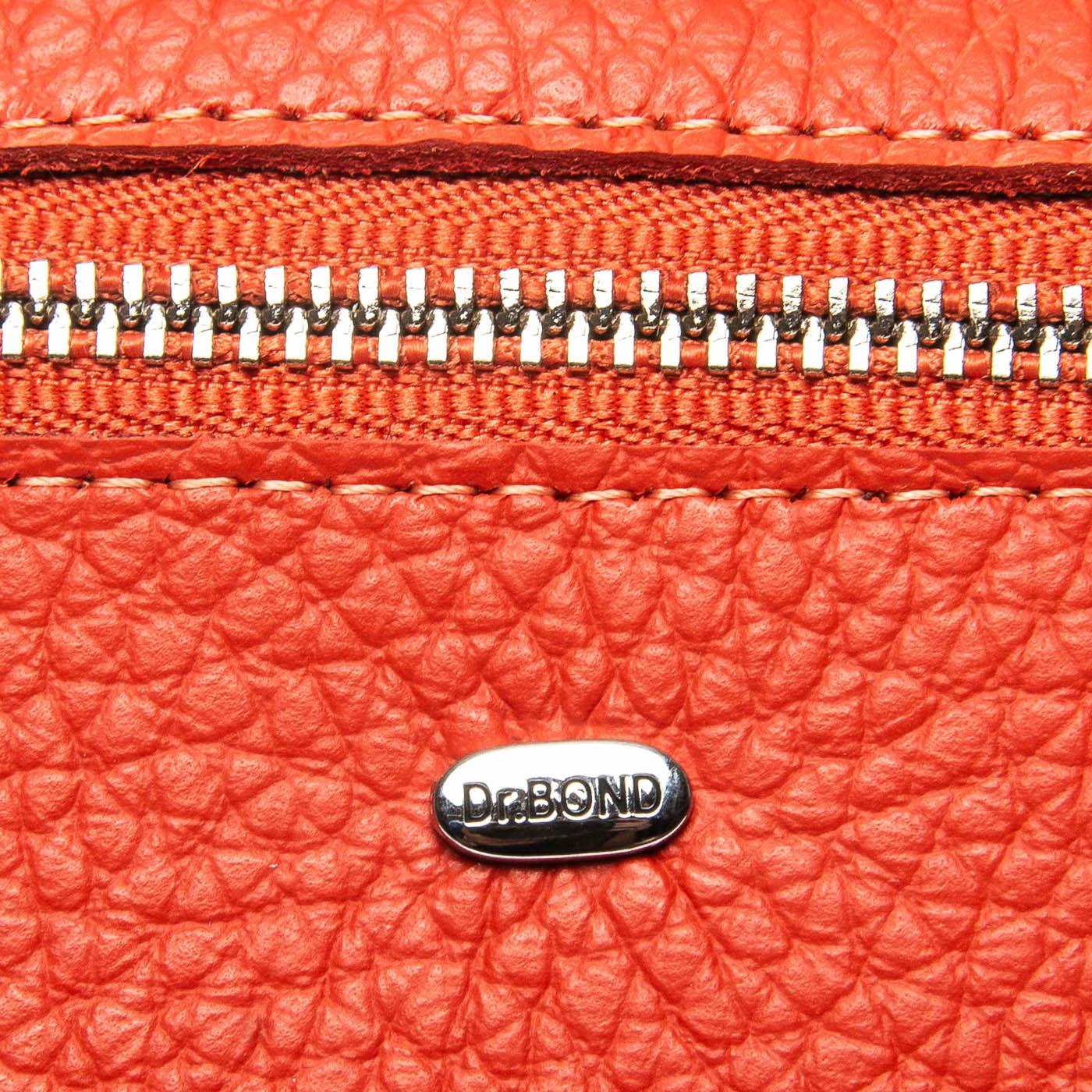 Кошелек Classic кожа DR. BOND WMB-2M orange