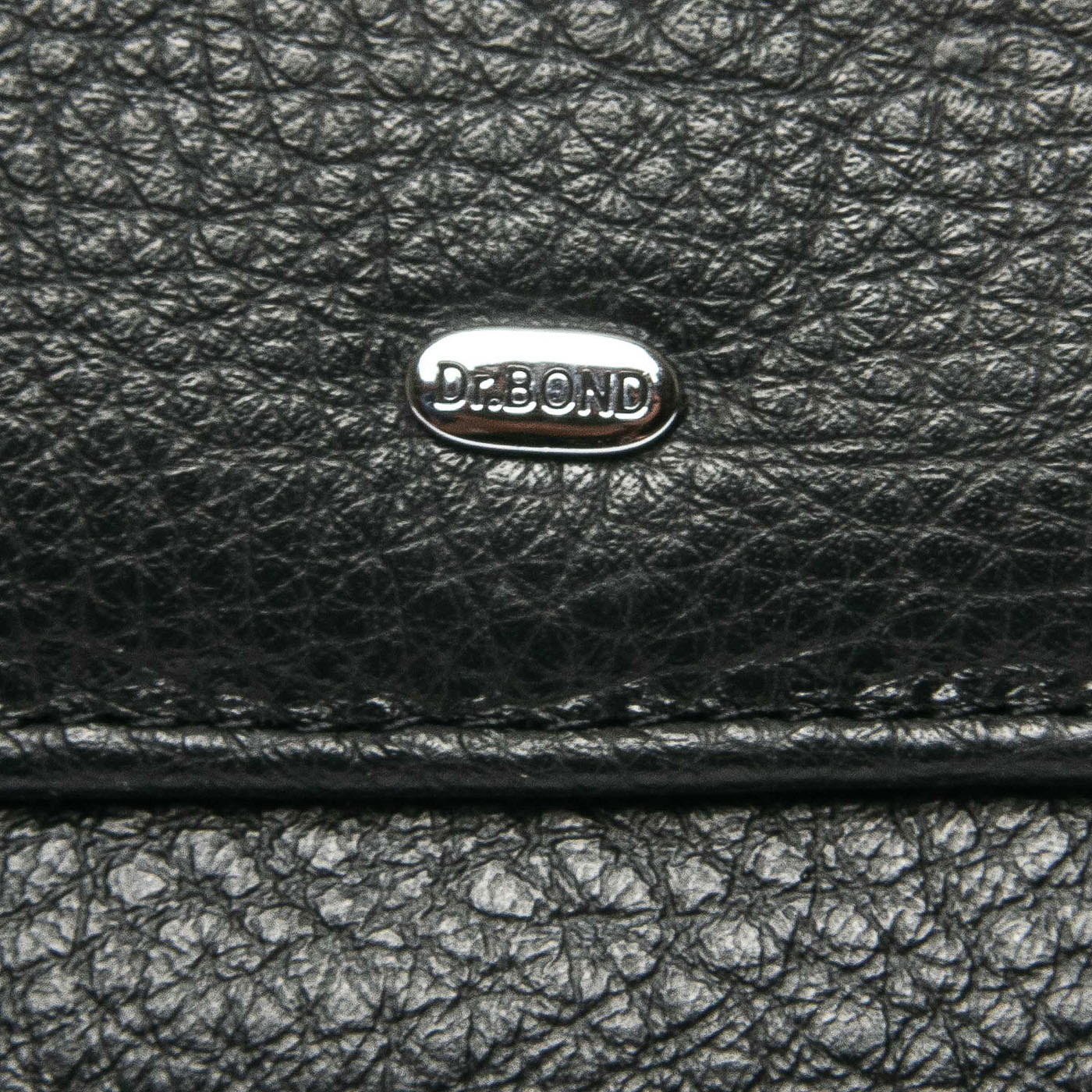 Кошелек Classic кожа DR. BOND WMB-4M black color - фото 3