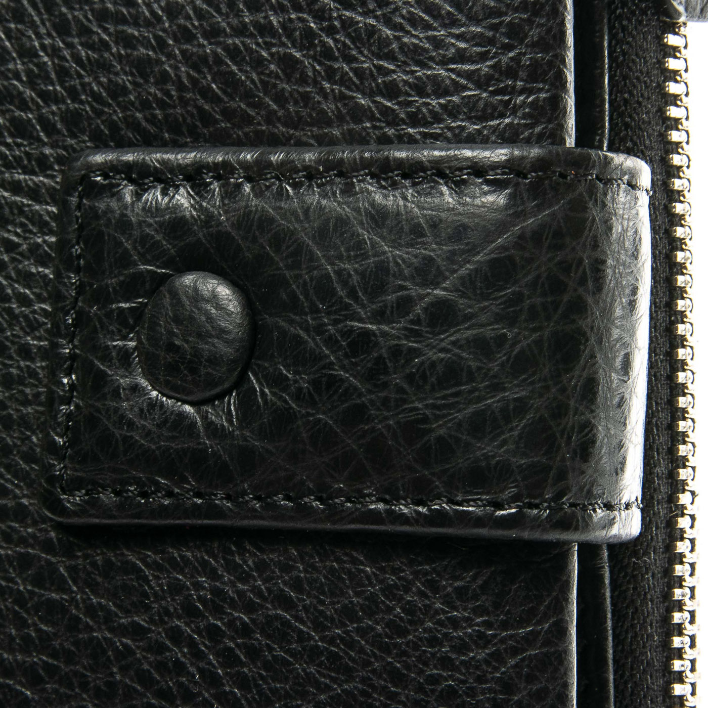 Кошелек Classic кожа DR. BOND WMB-1 black color