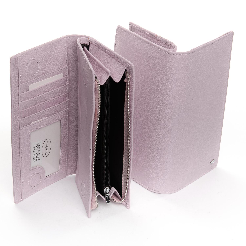 Кошелек Classic кожа DR. BOND WMB-3M pink - фото 4