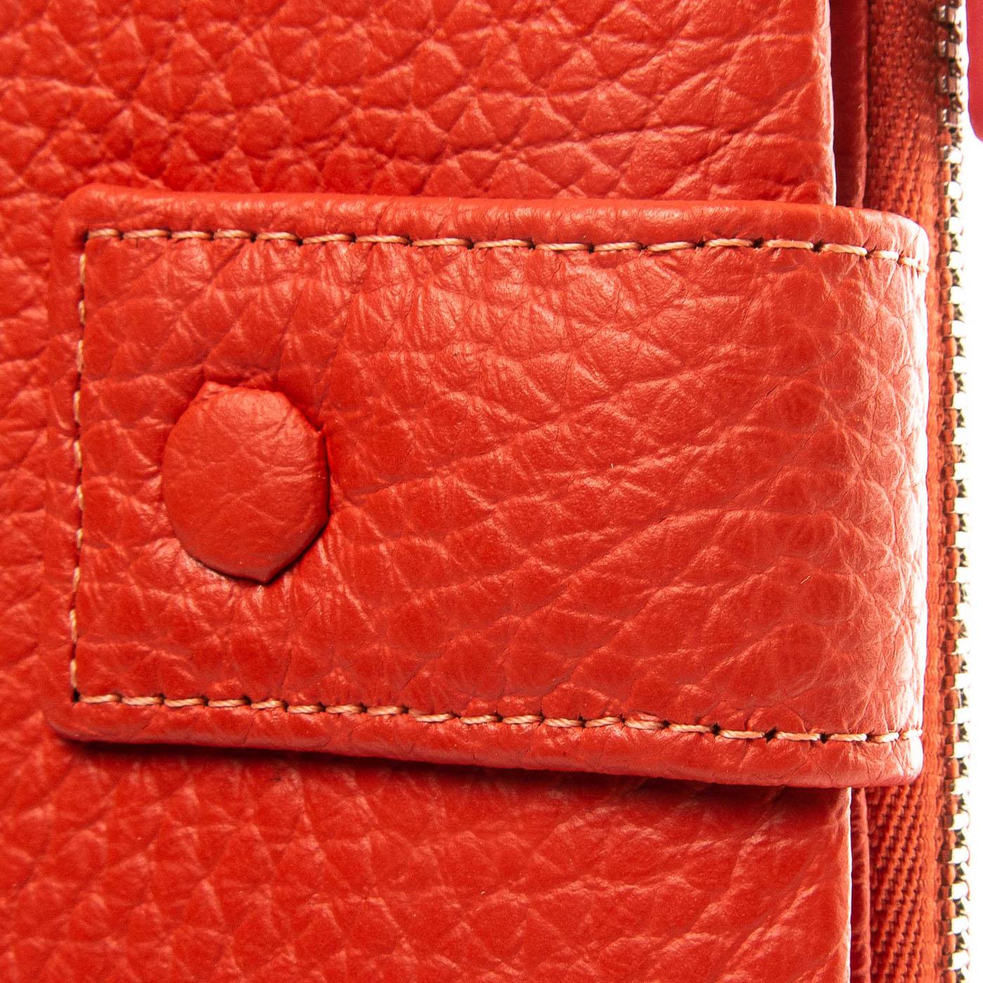 Кошелек Classic кожа DR. BOND WMB-1 orange - фото 3