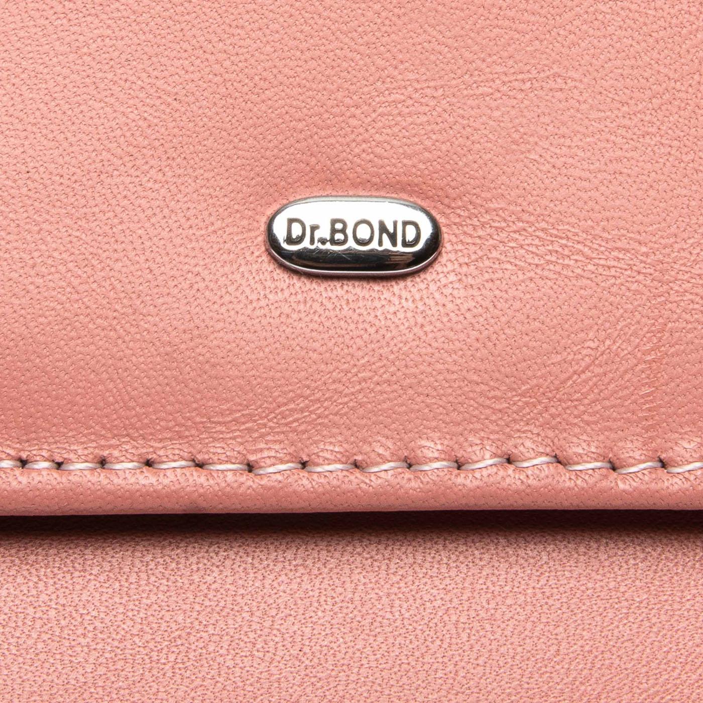 Кошелек Classic кожа DR. BOND WMB-4M pink - фото 3