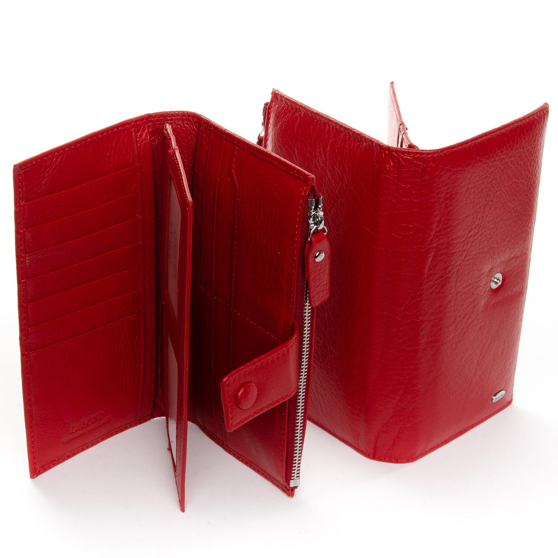 Кошелек Classic кожа DR. BOND WMB-1 red - фото 4
