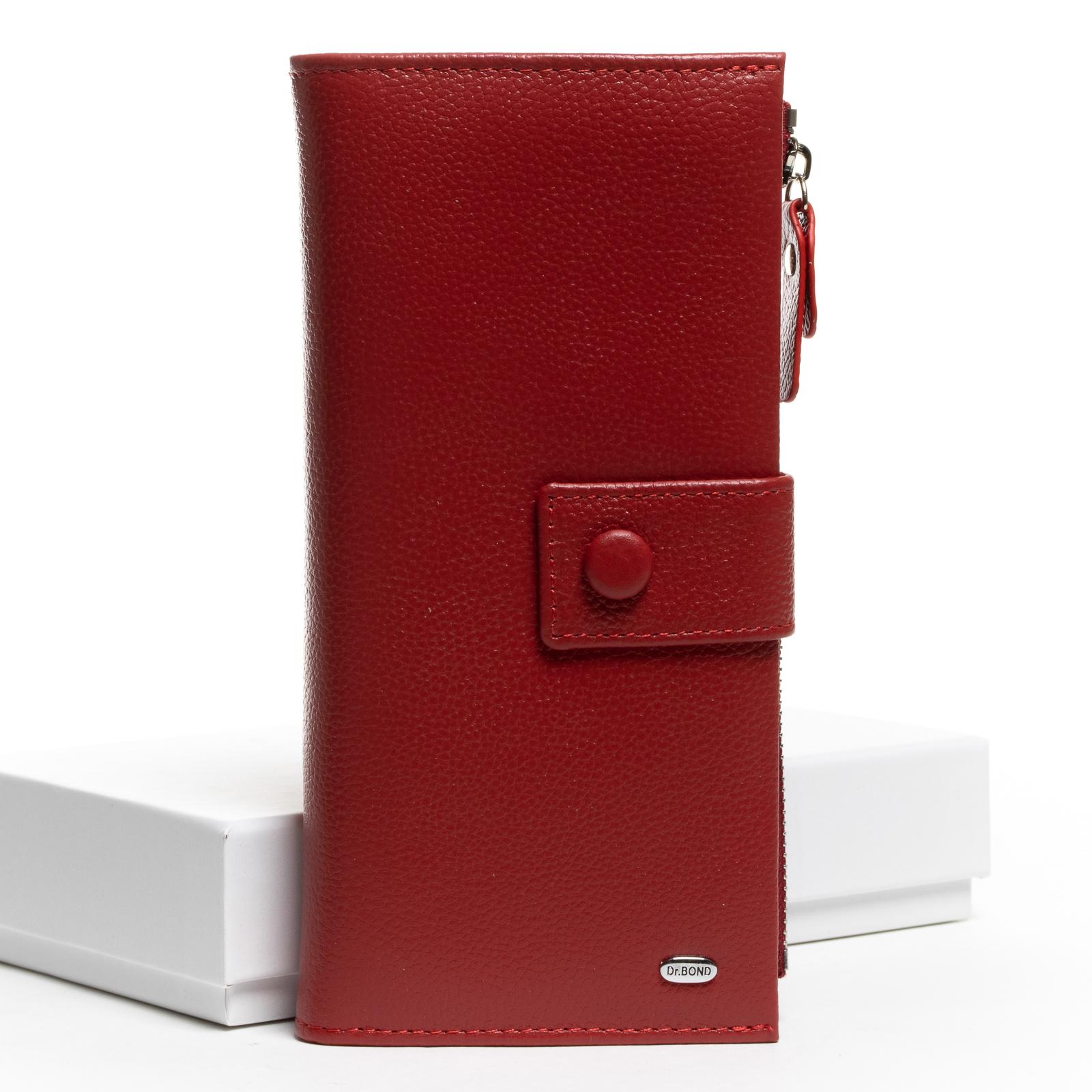 Кошелек Classic кожа DR. BOND WMB-1 red