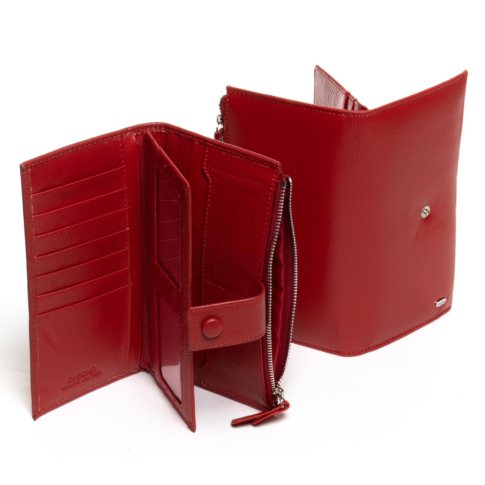 Кошелек Classic кожа DR. BOND WMB-1 red - фото 3