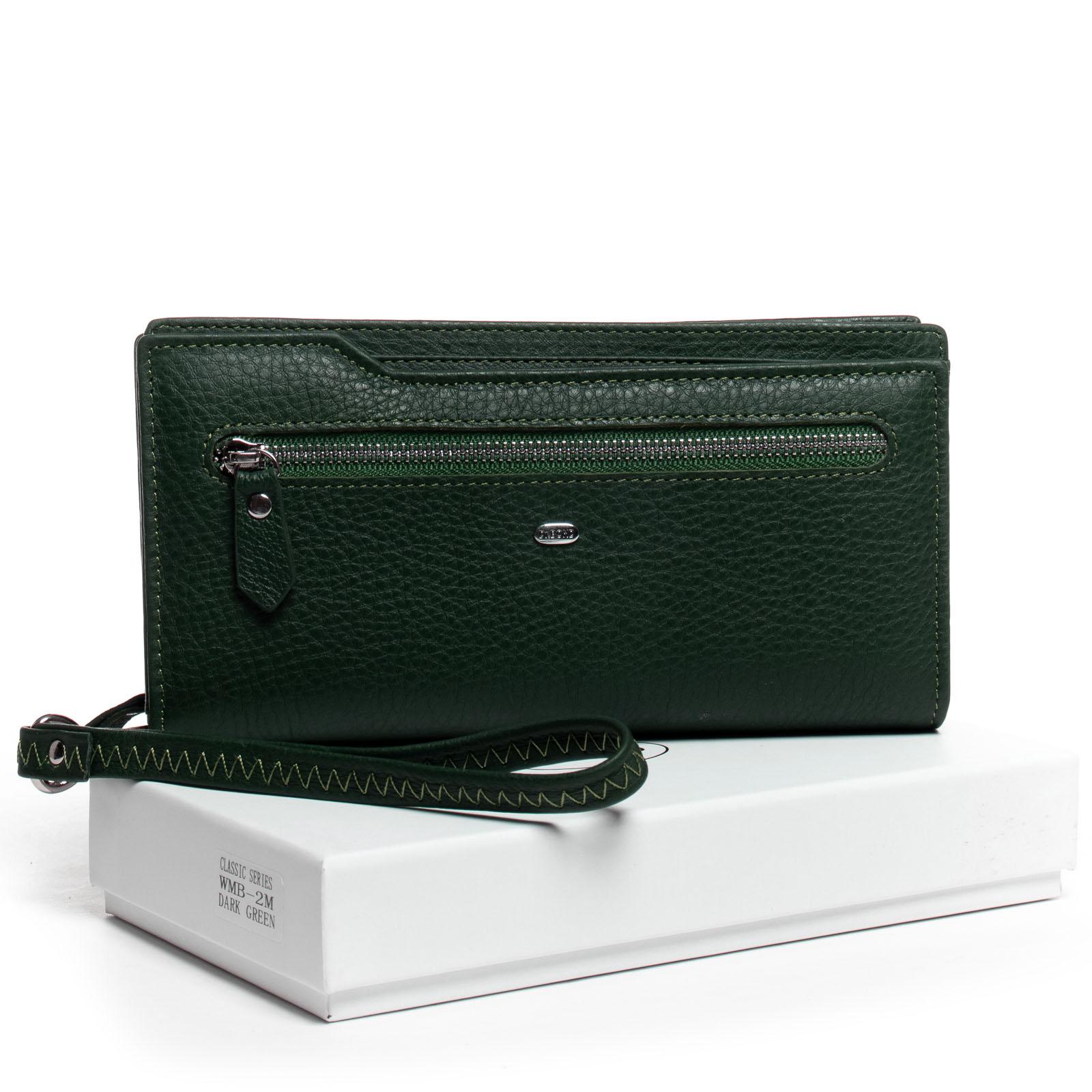Кошелек Classic кожа DR. BOND WMB-2M dark-green