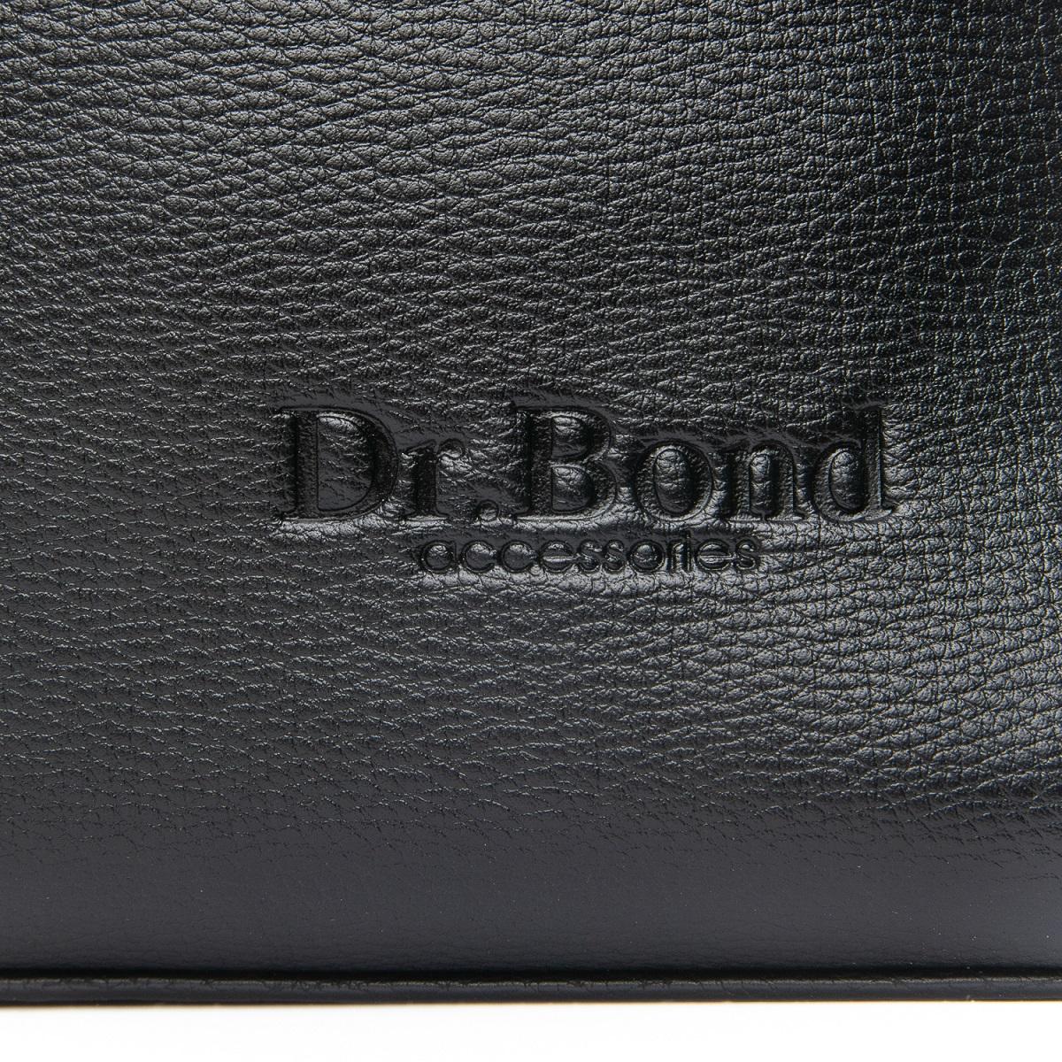 Сумка Для документов иск-кожа DR. BOND 1869-3 black