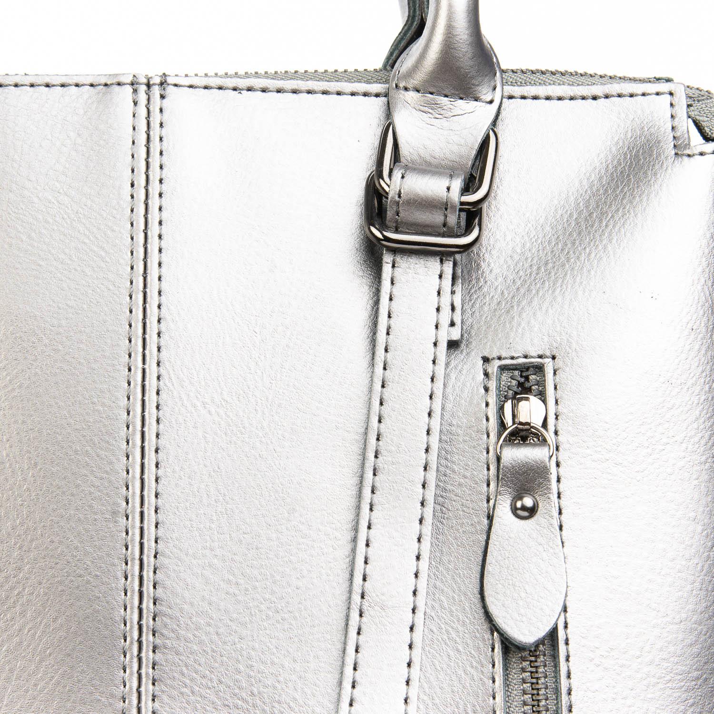 Сумка Женская Классическая кожа ALEX RAI 08-4 330 grey - фото 3