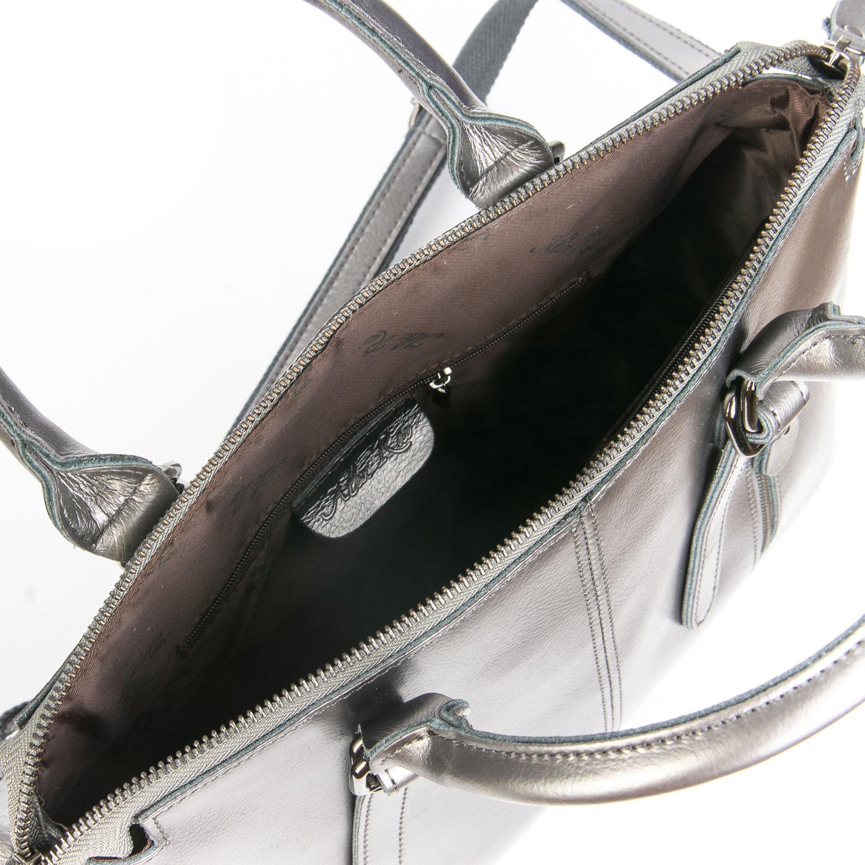 Сумка Женская Классическая кожа ALEX RAI 08-4 330 grey - фото 5