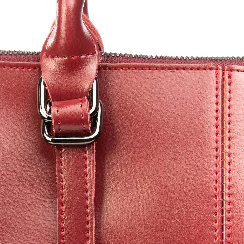 Сумка Женская Классическая кожа ALEX RAI 08-4 330 wine-red - фото 3