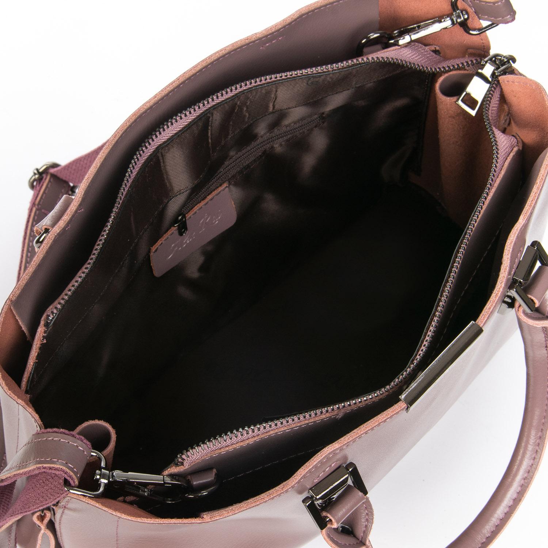 Сумка Женская Классическая кожа ALEX RAI 08-4 8772 purple - фото 5